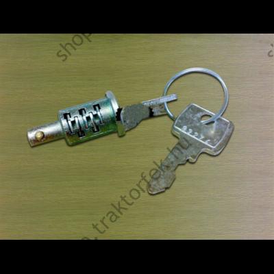 Gyújtáskapcsoló zárbetét + kulcs JCB