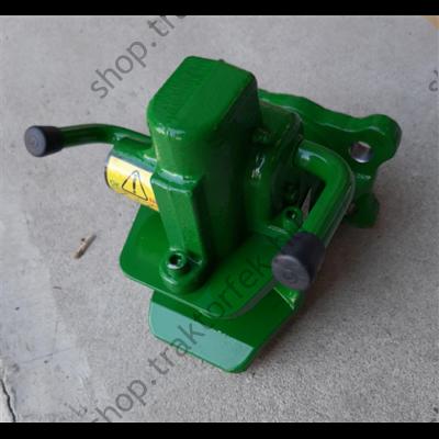 Vonófej automata 38mm-es csappal AH38HA4 V.ORLANDI zöld /140x80xd20 - D100kN - S2500