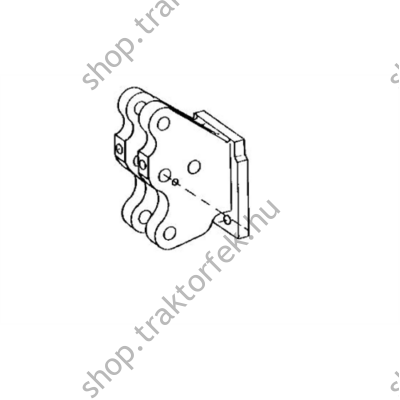 Rögzítő elem RE32600 bontott