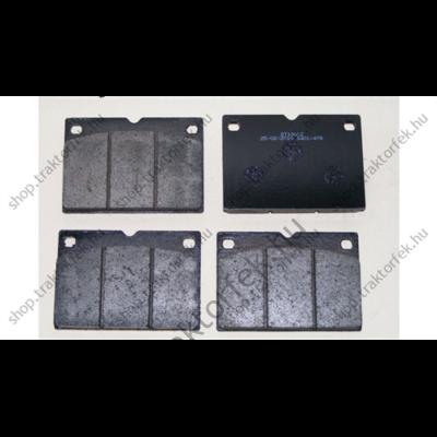 Tárcsafékbetét szett JCB Prémium 82,9x117,5x18,5mm - 4db