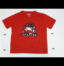 Gyermek póló - piros színben S