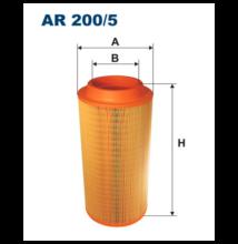 Levegőszűrő AR 200/5