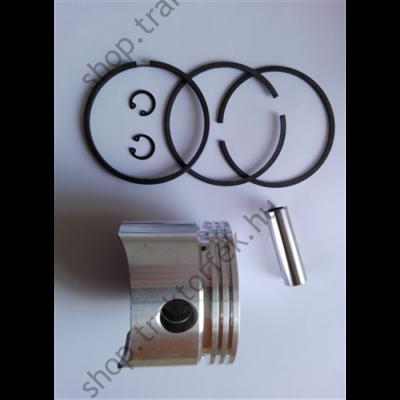 Kompresszor dugattyú szett (gyűrűvel és csapszeggel) +0,50 John Deere / Wabco utángyártott