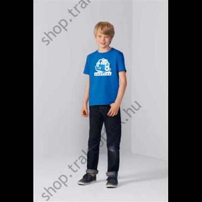 Gyermek póló - kék színben XL