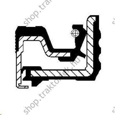 Szimering 332/D4317 Corteco