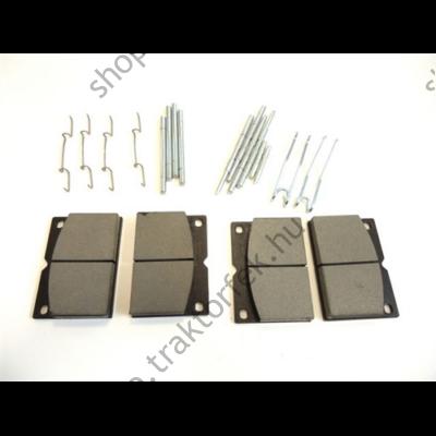 Tárcsafékbetét szett JCB 82,9x117,5x18,5mm - 4db (rugókkal és kiegészítőkkel)