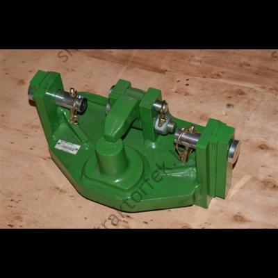 Piton fix vonófej V.Orlandi komplett 50 mm-es vonószemhez/ 329x31,6x25 / 20 tonna / S:3000kG