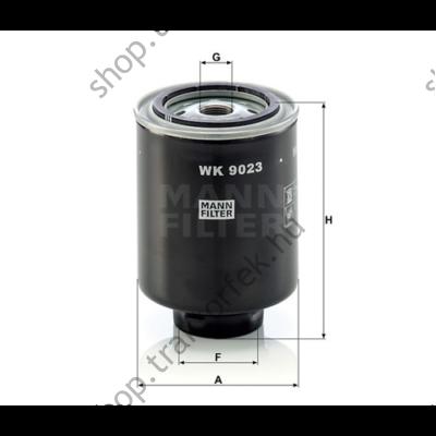 Üzemanyagszűrő WK 9023 Z